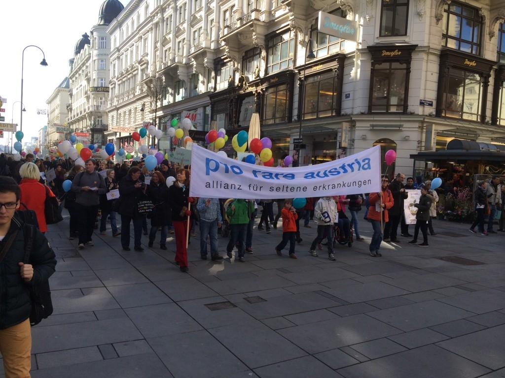 Marsch der Seltenen Erkrankungen4