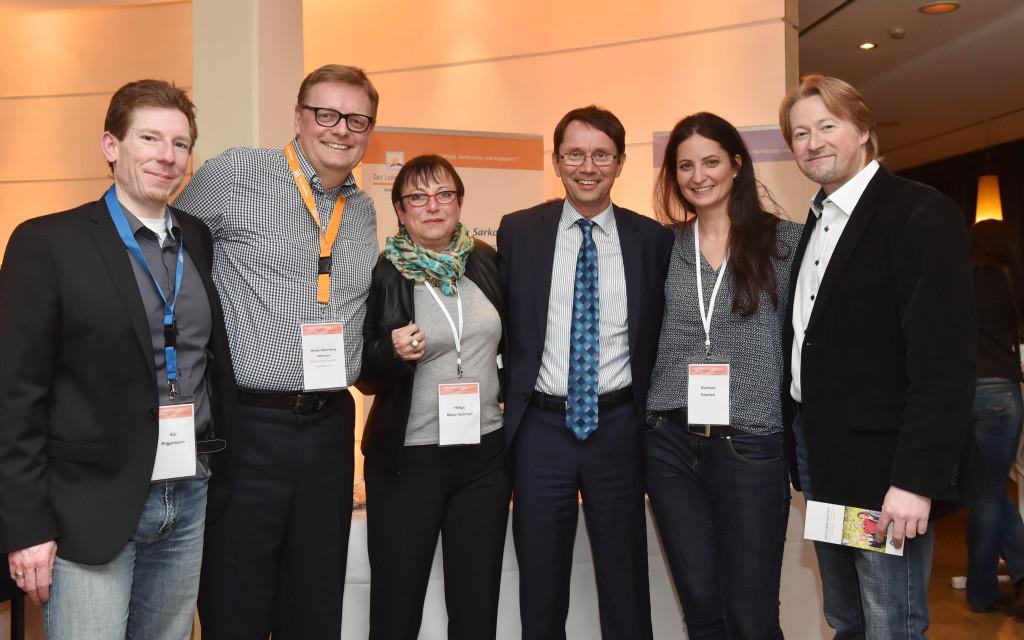 Sarkomkonferenz 2015 mit dem Lebenshaus und Heikki Joensuu