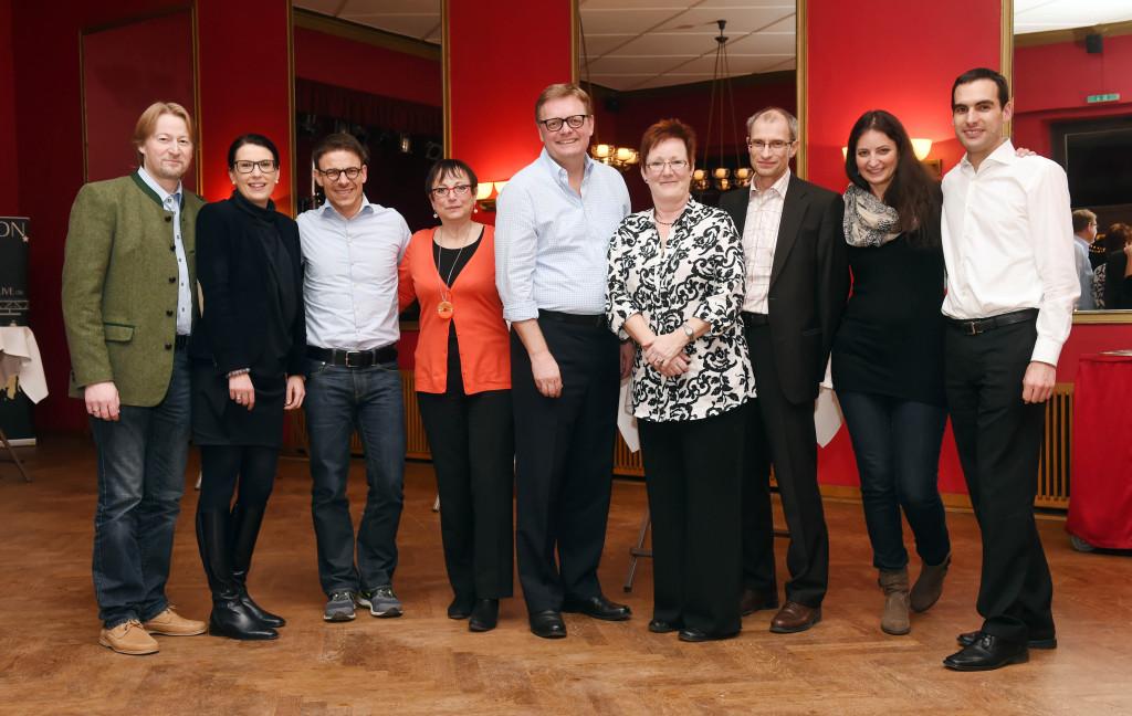 Rainer, B. Liegl-Atzwanger, M. Montemurro, H.Meier-Schnor, M. Wartenberg, Karin, F. Ploner, Barbara und B. Kasper